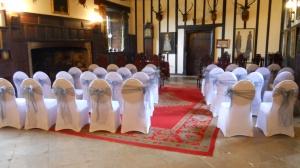 Rockingham Castle - Great Hall