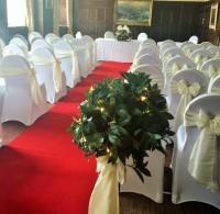 Whitwell Ceremony - Ivory taffeta