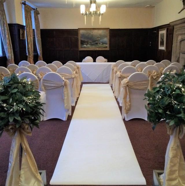 wedding fair 2019 white carpet